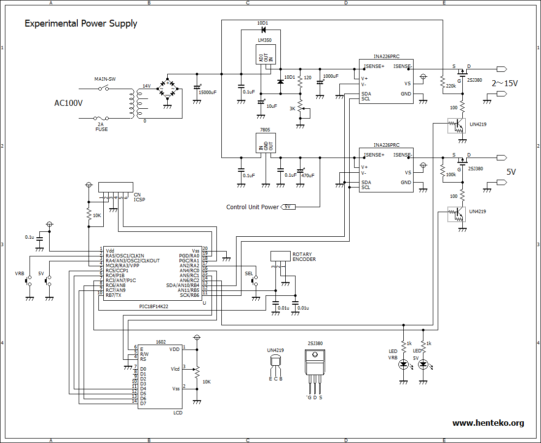 experimental power supply
